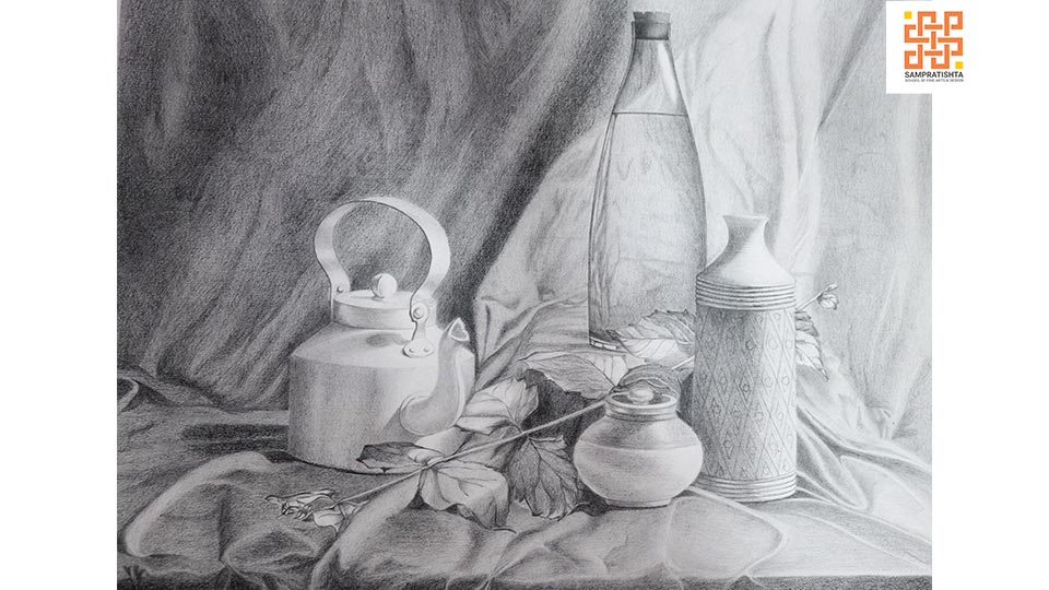 Assignments--on--Still-Life-&-Compostion-by-Tripti-at-Sampratishta