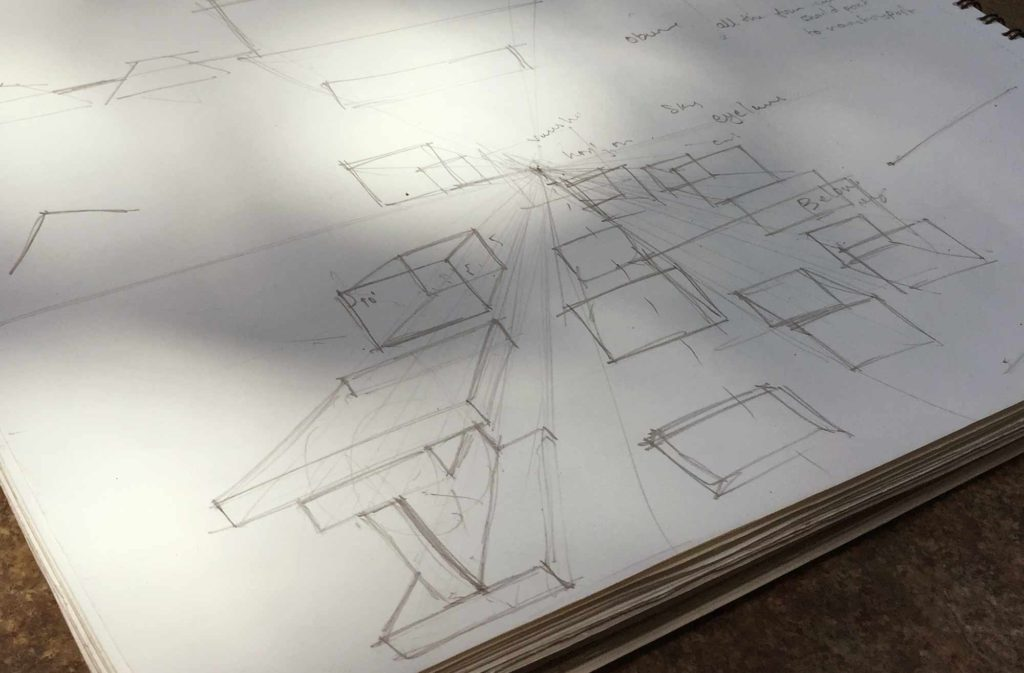 Principles of Perspective Sketching: Fix your angles today!