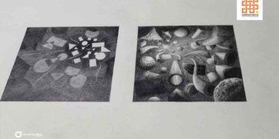 Students-assignments-in-Sampratishta-School-of-Fine-Arts-