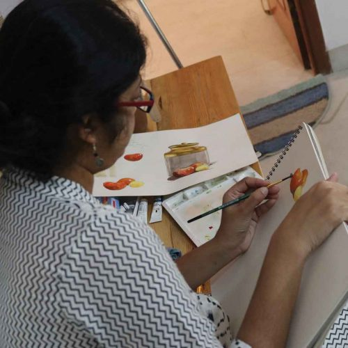 WATERCOLOR PAINTING CLASSES IN BANGALORE