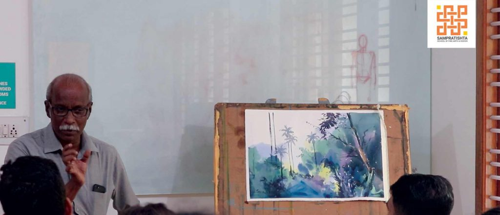 Specialization in watercolor painting