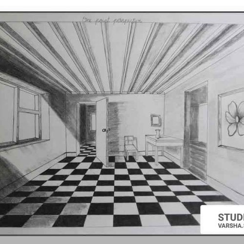 ONE-POINT PERSPECTIVE DRAWING - Creating Distances