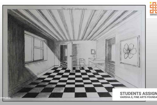 One-point-perspective-Sketching_sampratishta-school-of-fine-arts