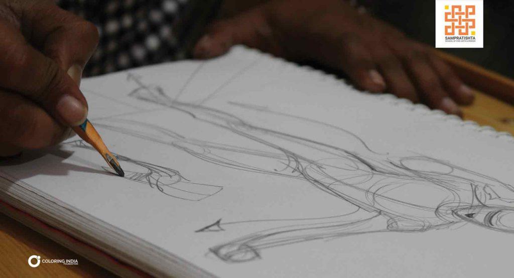 BREAKING-FIGURATIVE-SKETCHING_Sampratishta-School-of-fine-arts