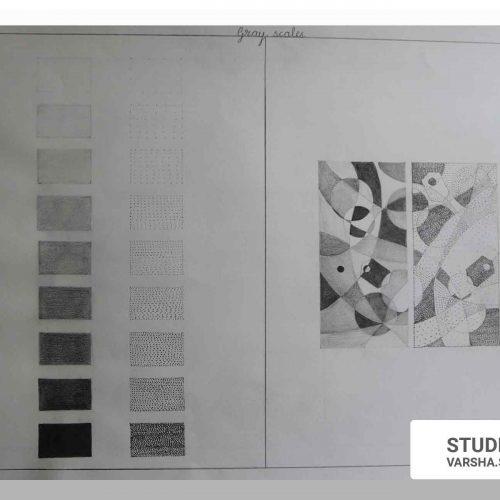 Fine arts Foundation Monochromes-Sampratishta