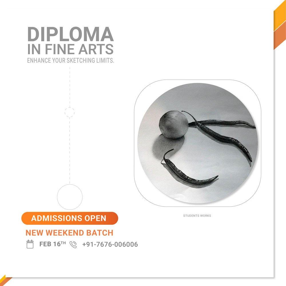 Shor term Diploma in Fine Arts Courses - Sampratishta