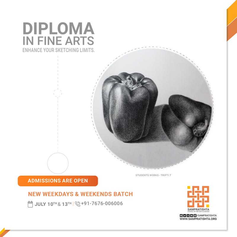 Diploma-in-Fine-Arts-Weekdays-&-Weekends-Batch-by-Sampratishta