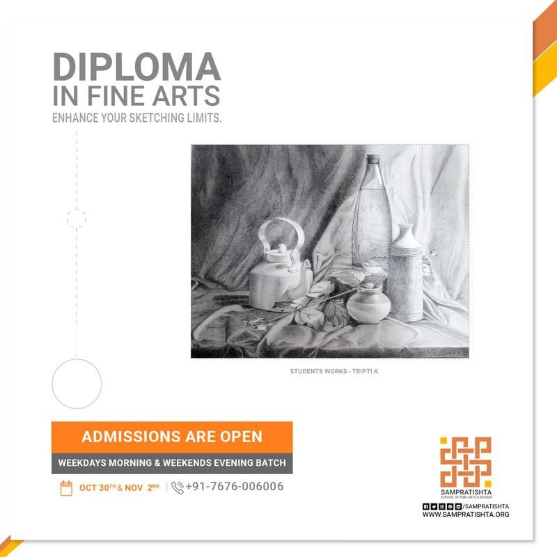 Diploma in fine arts by Sampratishta in Bangalore