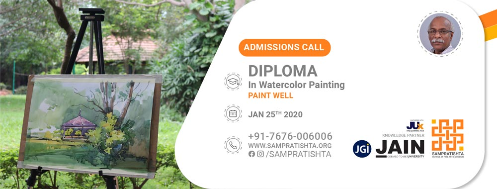 Diploma Course in Watercolor painting
